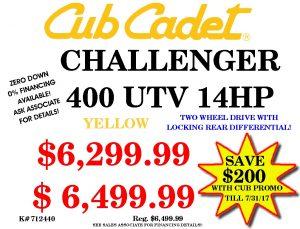 Cub Cadet #712440