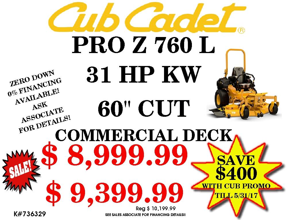 Cub Cadet 736329