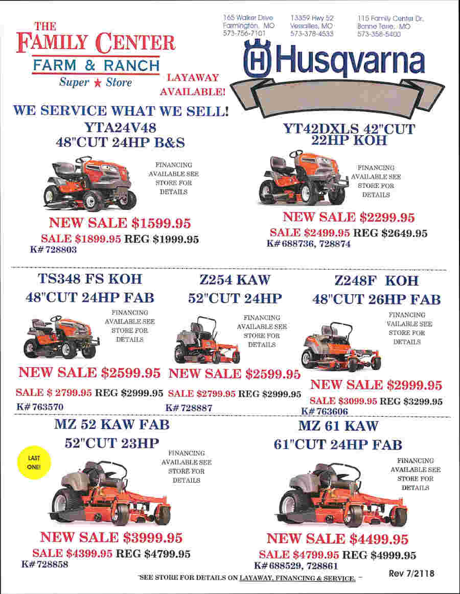 HUSQVARNA MOWER FLIER EFFECTIVE 72118_Page_2