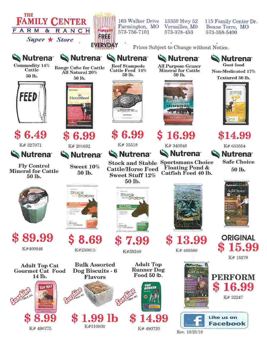 FEED FLIERS PAGE 1 UPDATED 10-25-18