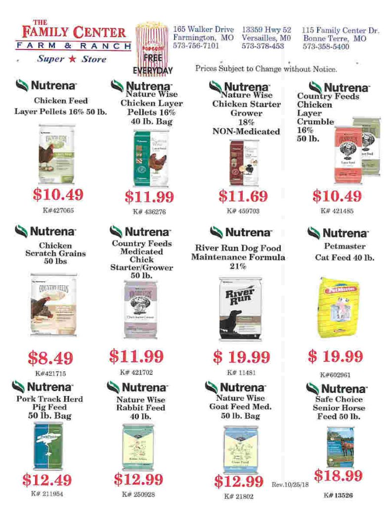 FEED FLIERS PAGE 2 UPDATED 10-25-18