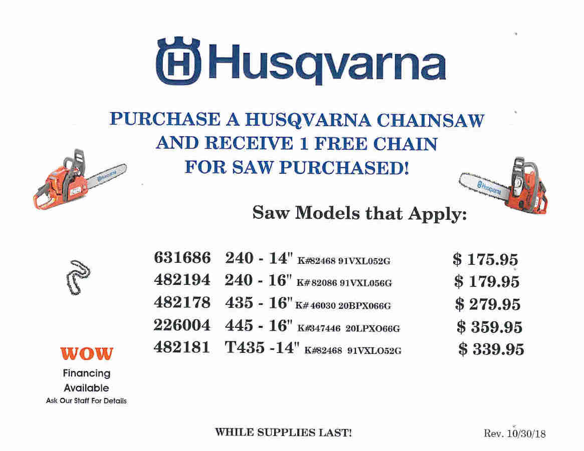 HUSQVARNA CHAINSAW PRICES START 10-31-18_Page_1